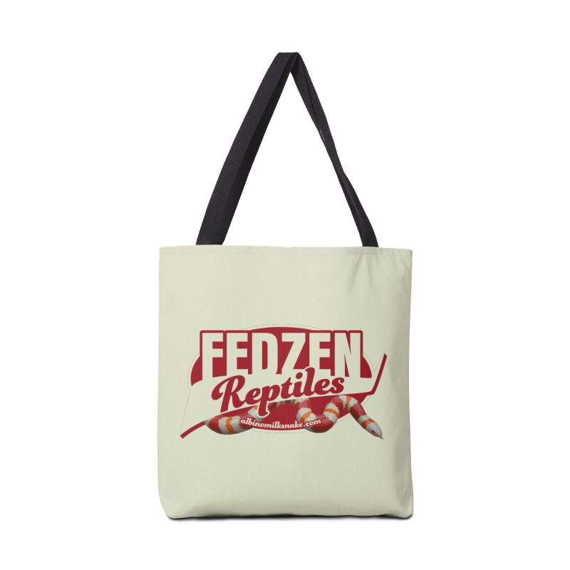 FEDZEN REPTILES Accessories Tote Bag Bag by Drawn to Scales