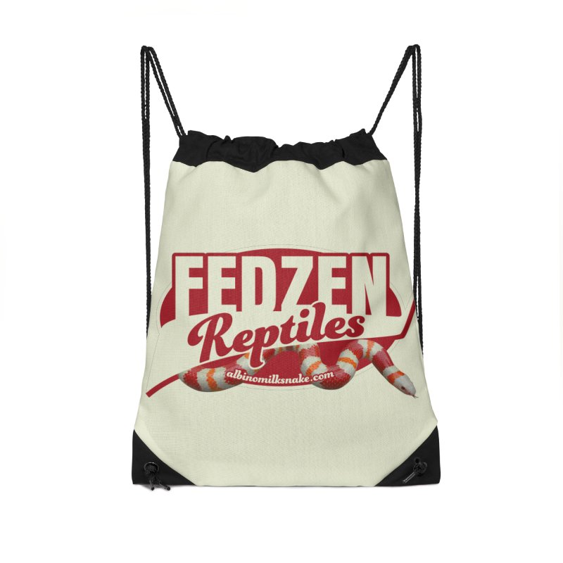 FEDZEN REPTILES Accessories Drawstring Bag Bag by Drawn to Scales