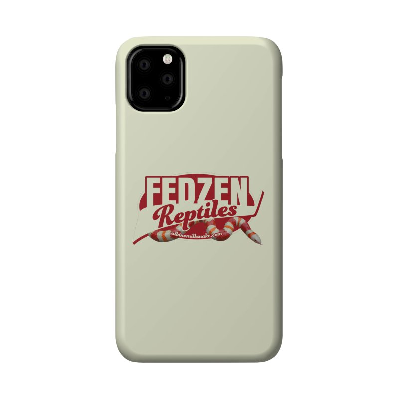 FEDZEN REPTILES Accessories Phone Case by Drawn to Scales