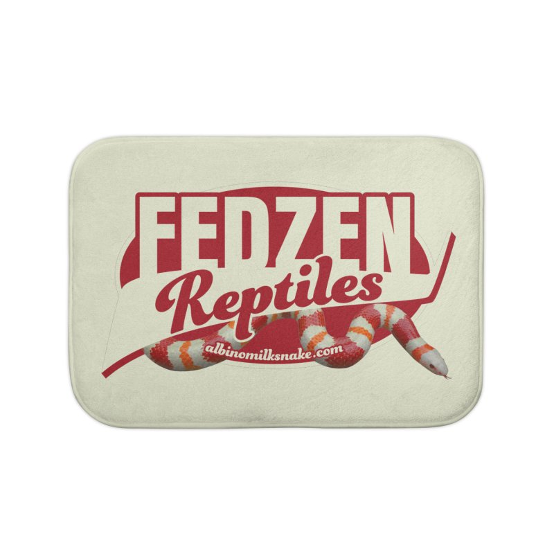 FEDZEN REPTILES Home Bath Mat by Drawn to Scales