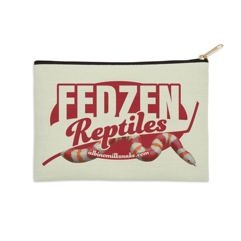 FEDZEN REPTILES Accessories Zip Pouch by Drawn to Scales