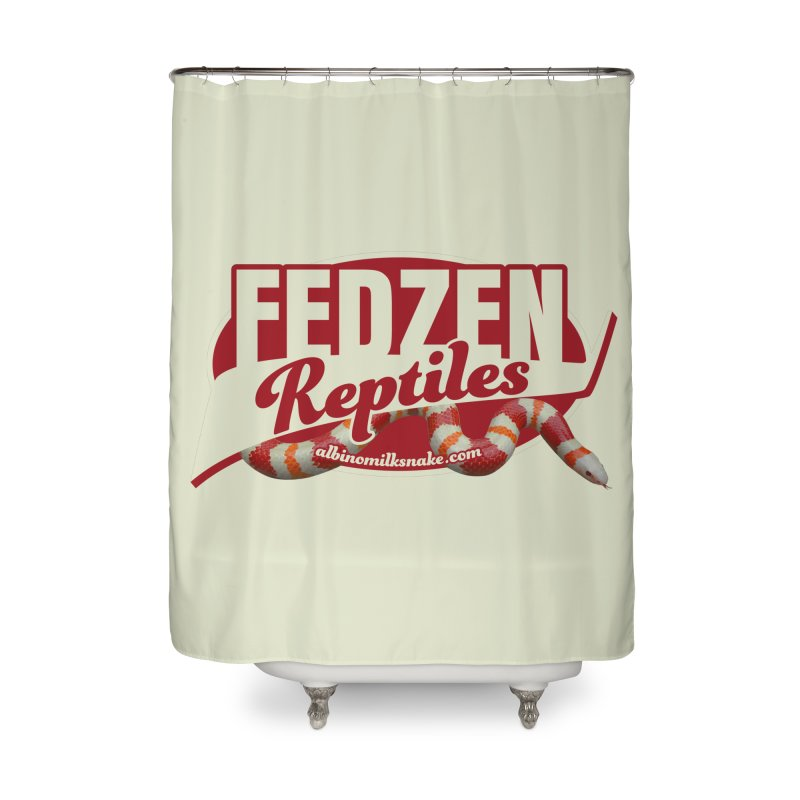 FEDZEN REPTILES Home Shower Curtain by Drawn to Scales