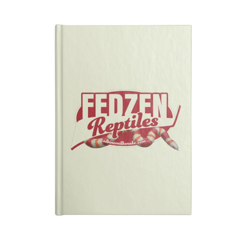 FEDZEN REPTILES Accessories Lined Journal Notebook by Drawn to Scales