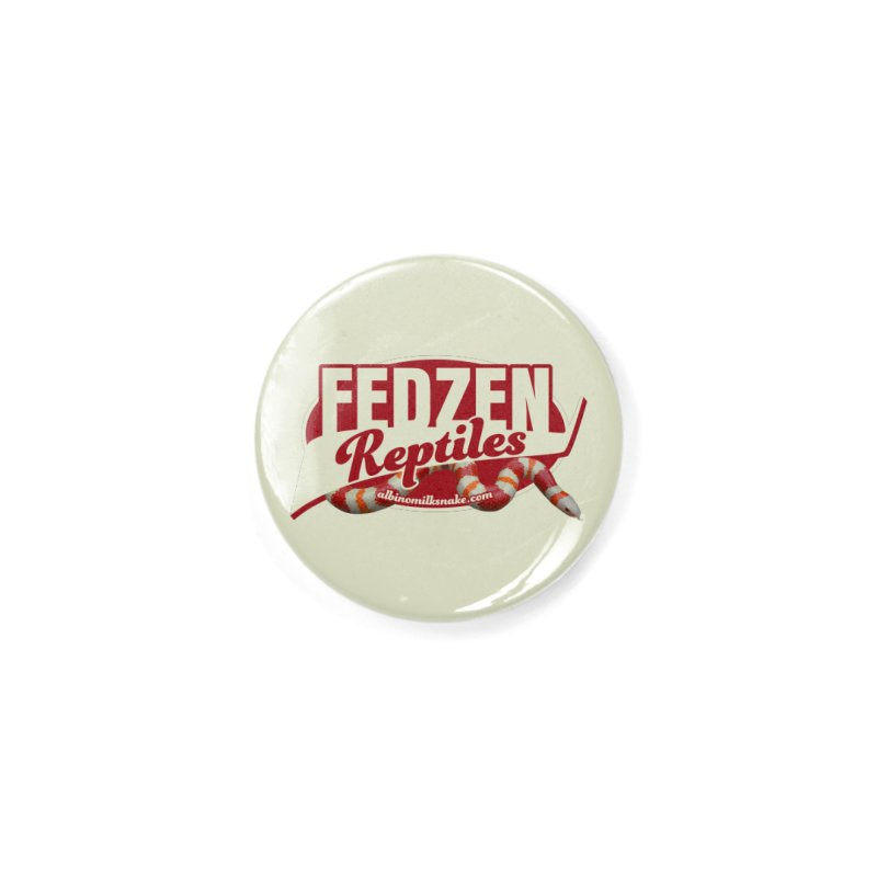 FEDZEN REPTILES Accessories Button by Drawn to Scales