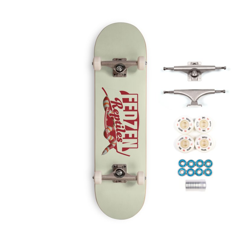 FEDZEN REPTILES Accessories Complete - Premium Skateboard by Drawn to Scales