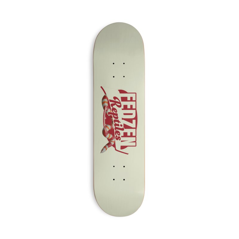 FEDZEN REPTILES Accessories Deck Only Skateboard by Drawn to Scales