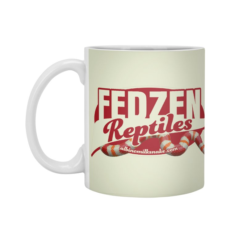 FEDZEN REPTILES Accessories Standard Mug by Drawn to Scales