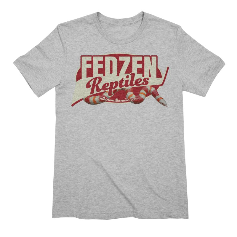 FEDZEN REPTILES Men's Extra Soft T-Shirt by Drawn to Scales