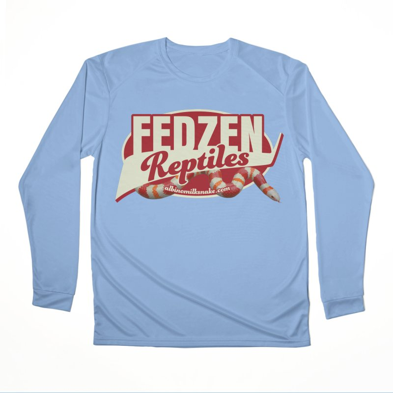 FEDZEN REPTILES Men's Performance Longsleeve T-Shirt by Drawn to Scales