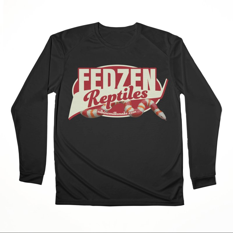 FEDZEN REPTILES Women's Performance Unisex Longsleeve T-Shirt by Drawn to Scales
