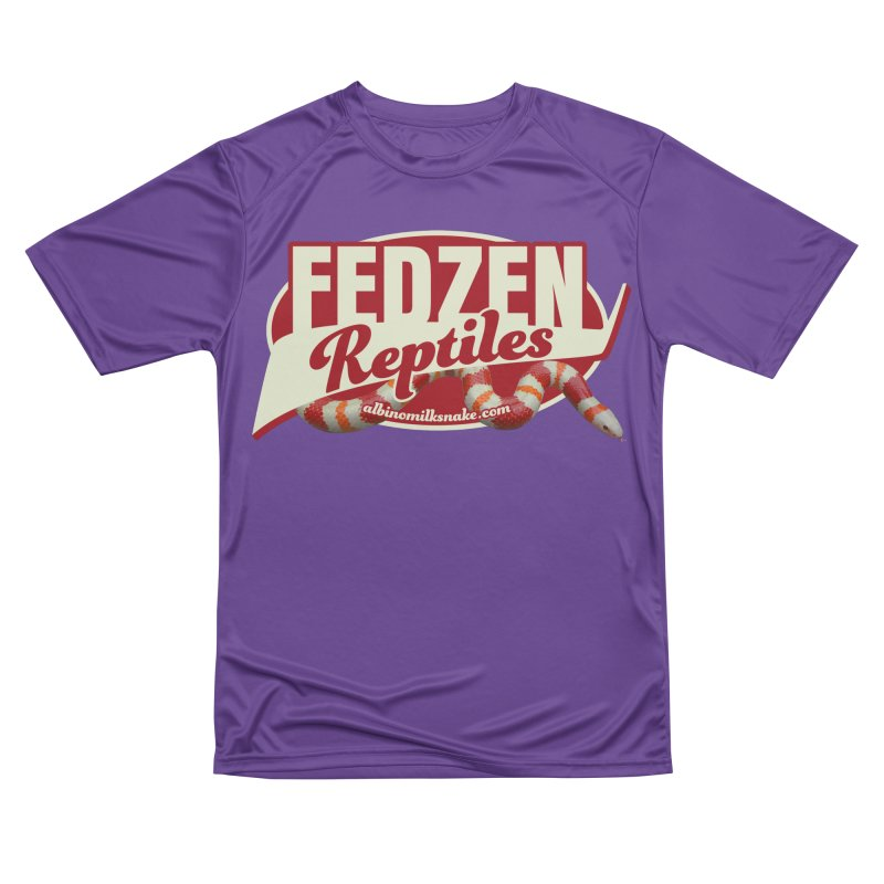 FEDZEN REPTILES Men's Performance T-Shirt by Drawn to Scales