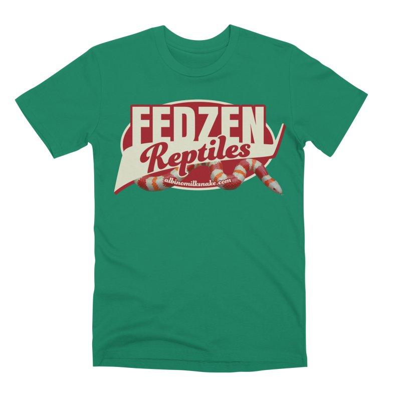 FEDZEN REPTILES Men's Premium T-Shirt by Drawn to Scales