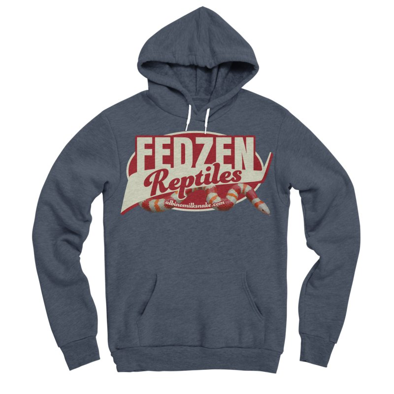 FEDZEN REPTILES Women's Sponge Fleece Pullover Hoody by Drawn to Scales