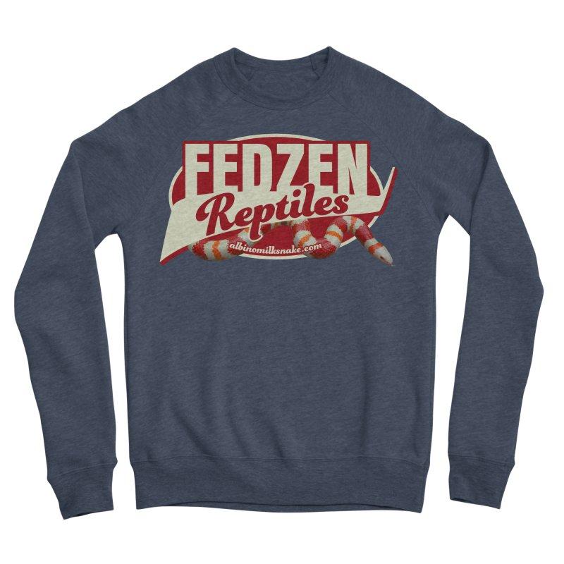FEDZEN REPTILES Men's Sponge Fleece Sweatshirt by Drawn to Scales