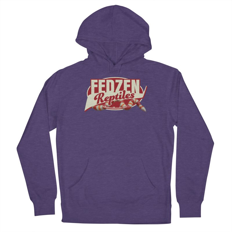 FEDZEN REPTILES Women's French Terry Pullover Hoody by Drawn to Scales