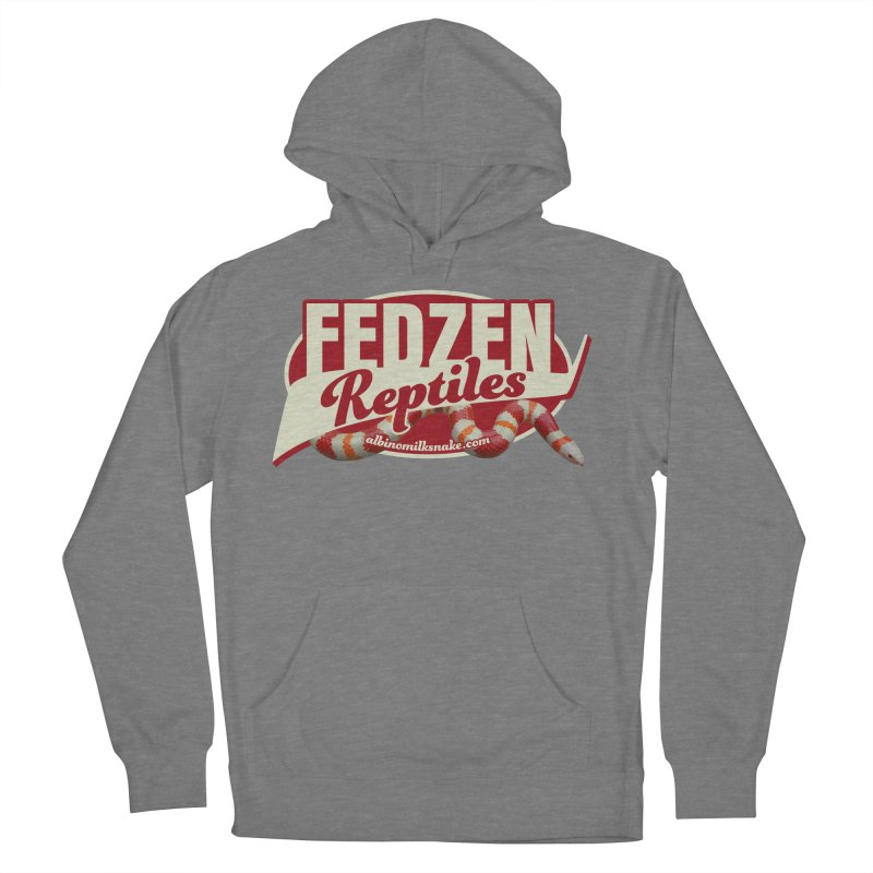 FEDZEN REPTILES Men's French Terry Pullover Hoody by Drawn to Scales