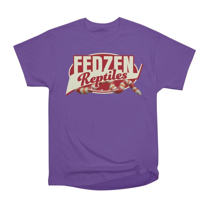 FEDZEN REPTILES Women's Heavyweight Unisex T-Shirt by Drawn to Scales