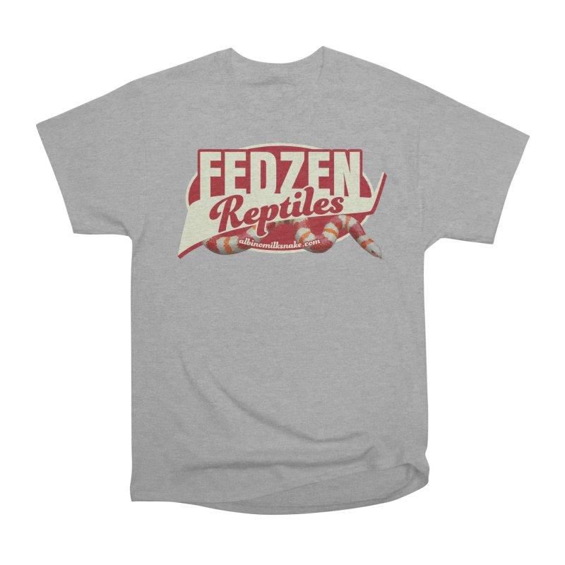 FEDZEN REPTILES Men's Heavyweight T-Shirt by Drawn to Scales