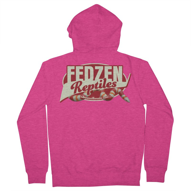 FEDZEN REPTILES Women's French Terry Zip-Up Hoody by Drawn to Scales