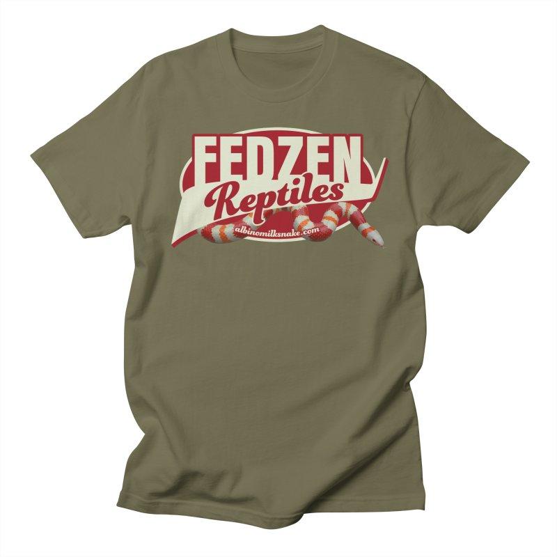 FEDZEN REPTILES Women's Regular Unisex T-Shirt by Drawn to Scales