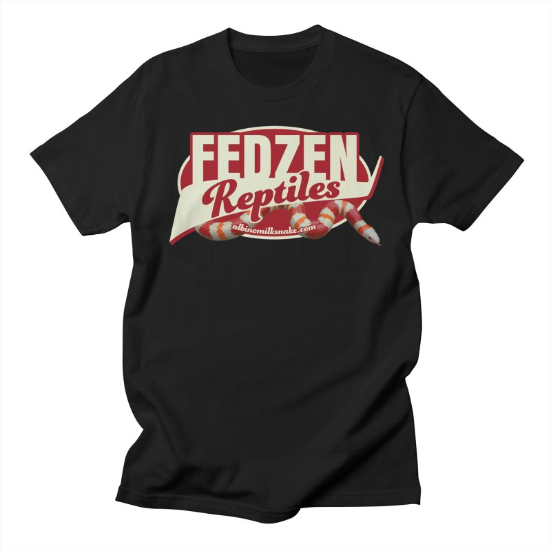 FEDZEN REPTILES Men's Regular T-Shirt by Drawn to Scales