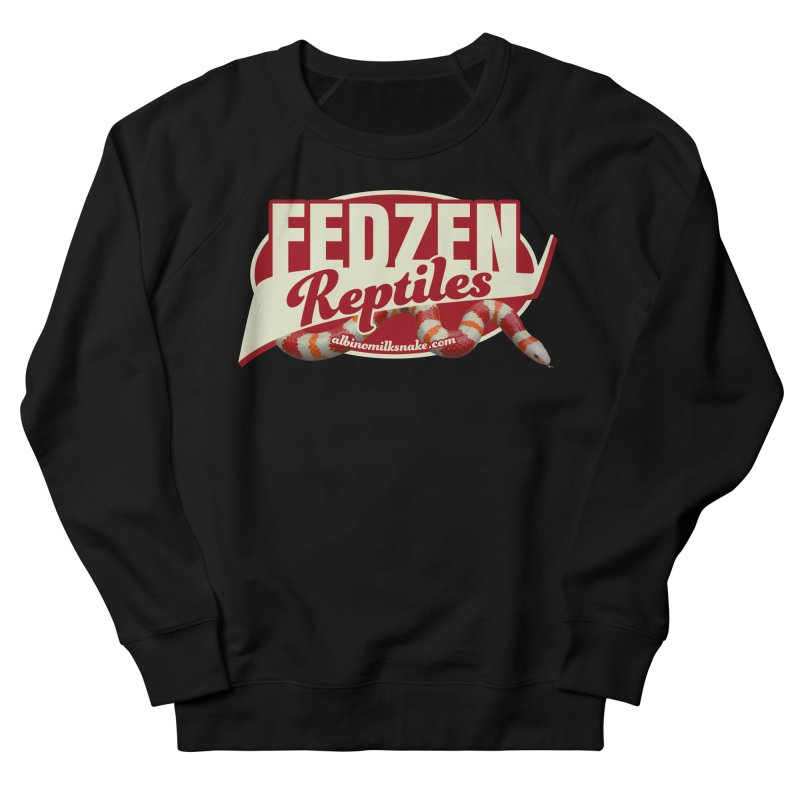 FEDZEN REPTILES Women's French Terry Sweatshirt by Drawn to Scales