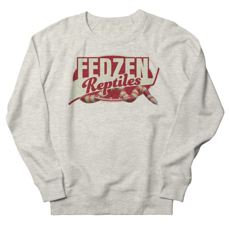 FEDZEN REPTILES Men's French Terry Sweatshirt by Drawn to Scales