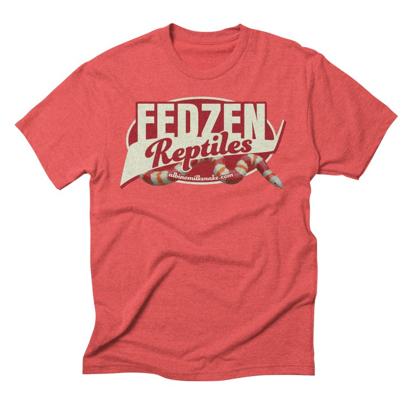 FEDZEN REPTILES Men's Triblend T-Shirt by Drawn to Scales