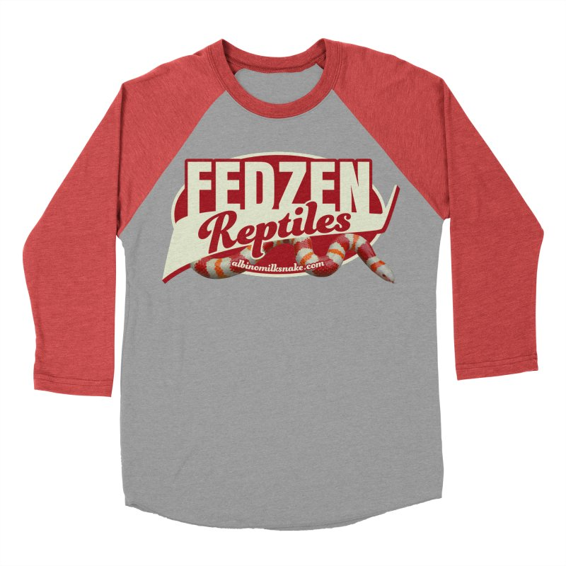 FEDZEN REPTILES Women's Baseball Triblend Longsleeve T-Shirt by Drawn to Scales