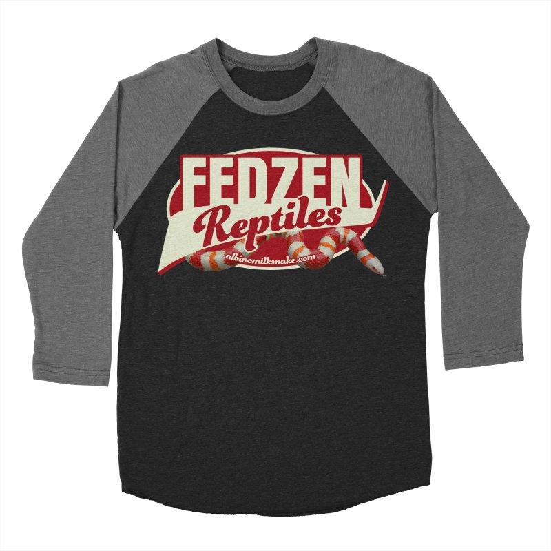 FEDZEN REPTILES Women's Baseball Triblend Longsleeve T-Shirt by Drawn to Scales