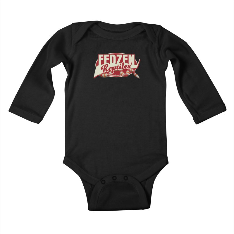 FEDZEN REPTILES Kids Baby Longsleeve Bodysuit by Drawn to Scales