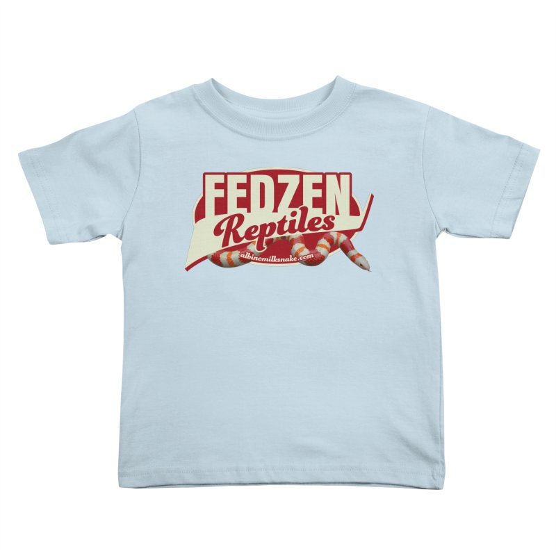 FEDZEN REPTILES Kids Toddler T-Shirt by Drawn to Scales