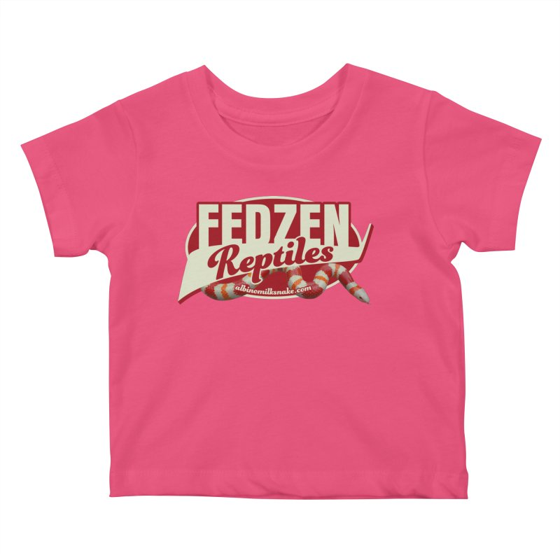 FEDZEN REPTILES Kids Baby T-Shirt by Drawn to Scales