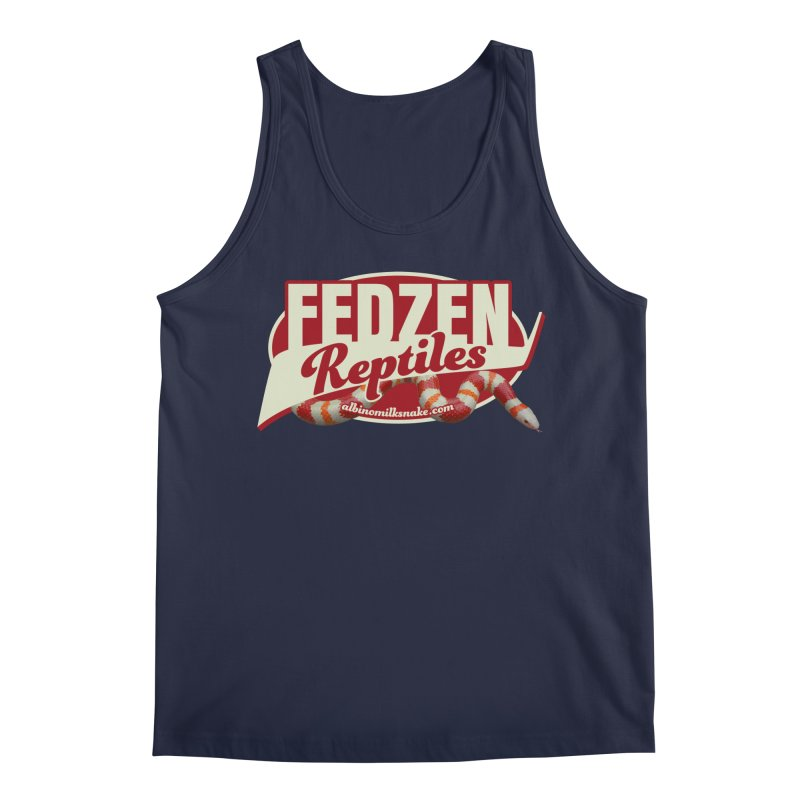 FEDZEN REPTILES Men's Regular Tank by Drawn to Scales