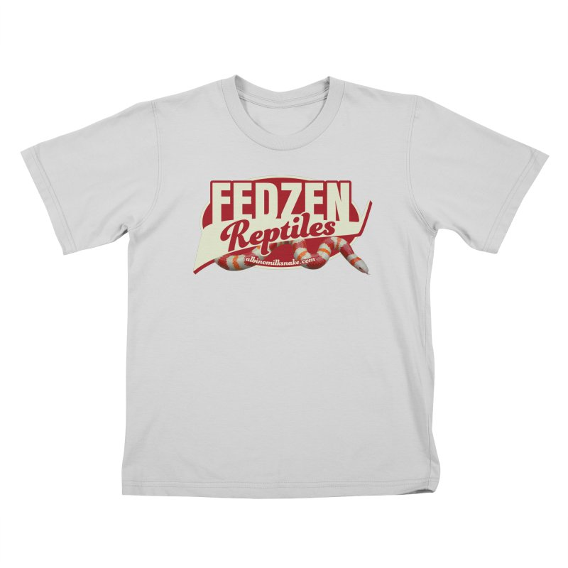 FEDZEN REPTILES Kids T-Shirt by Drawn to Scales