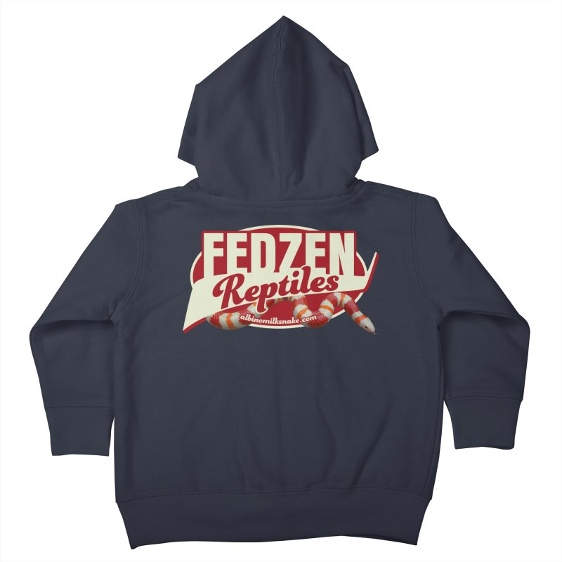FEDZEN REPTILES Kids Toddler Zip-Up Hoody by Drawn to Scales