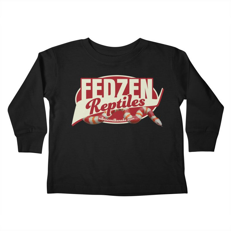 FEDZEN REPTILES Kids Toddler Longsleeve T-Shirt by Drawn to Scales