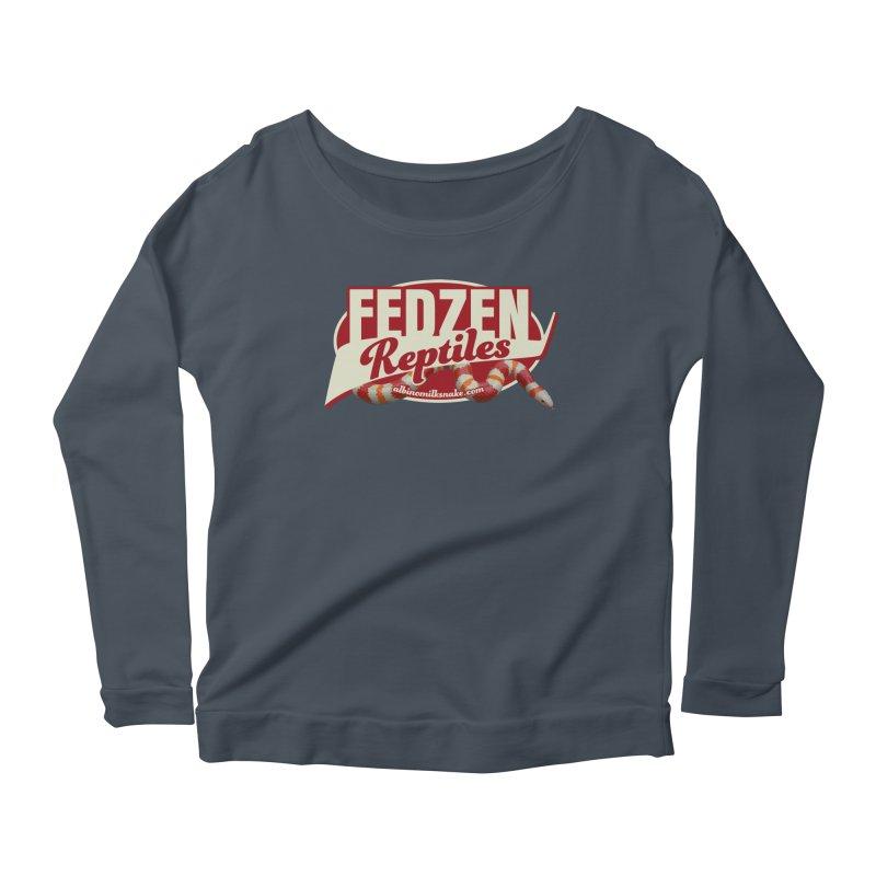 FEDZEN REPTILES Women's Scoop Neck Longsleeve T-Shirt by Drawn to Scales