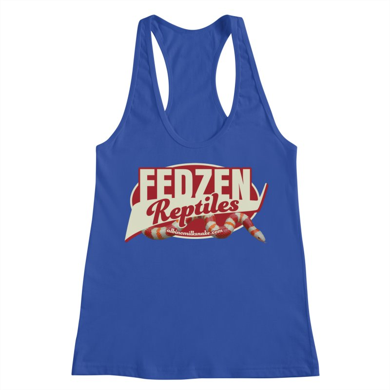 FEDZEN REPTILES Women's Racerback Tank by Drawn to Scales