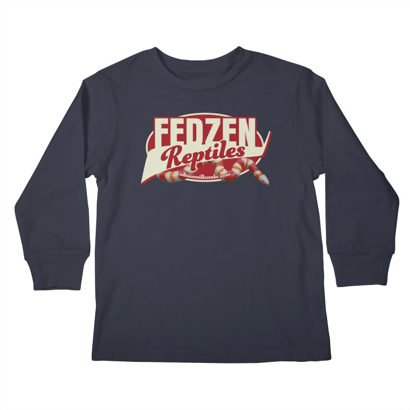 FEDZEN REPTILES Kids Longsleeve T-Shirt by Drawn to Scales