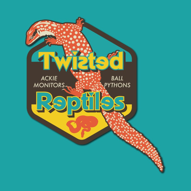 TWISTED REPTILES Accessories Notebook by Drawn to Scales