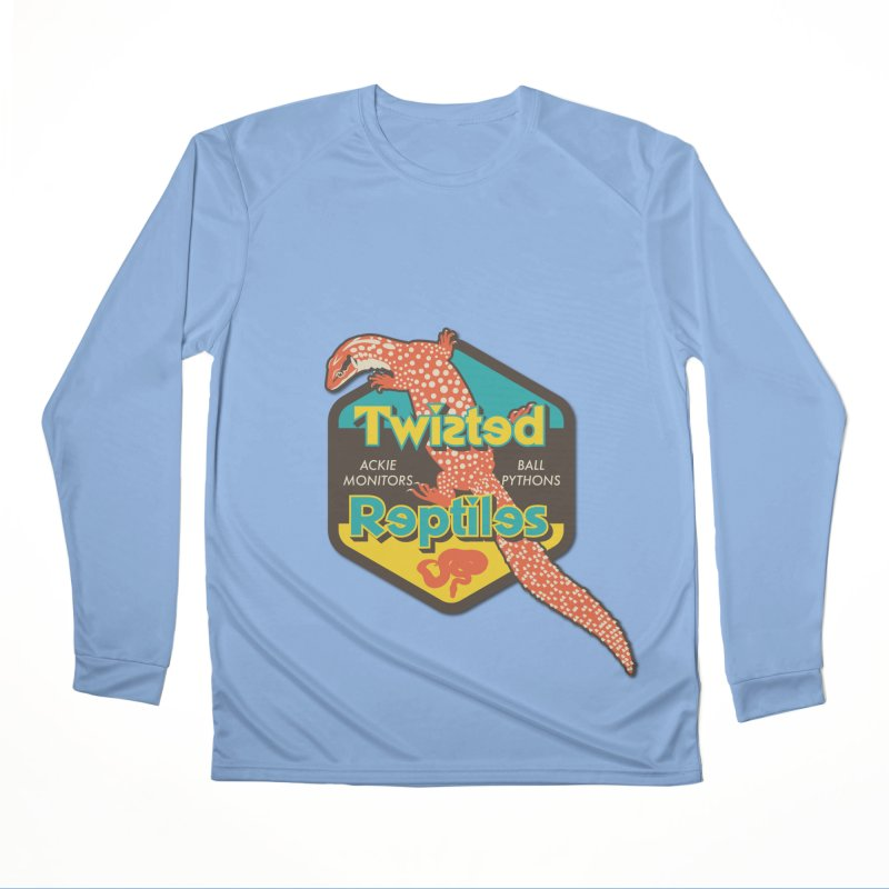 TWISTED REPTILES Women's Performance Unisex Longsleeve T-Shirt by Drawn to Scales