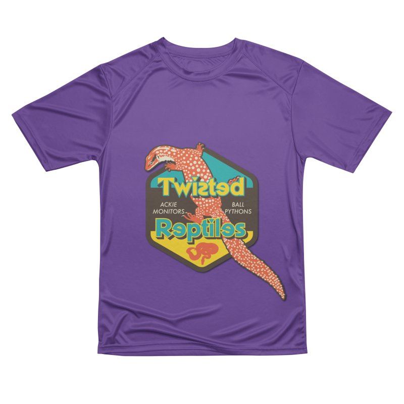 TWISTED REPTILES Men's Performance T-Shirt by Drawn to Scales