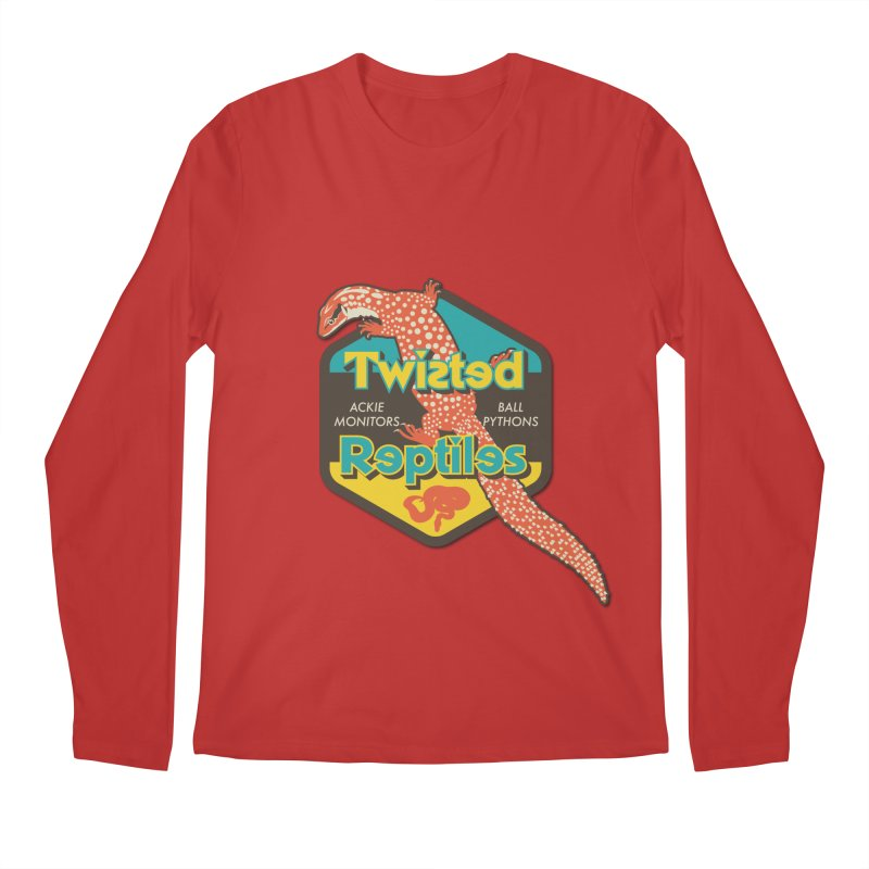TWISTED REPTILES Men's Regular Longsleeve T-Shirt by Drawn to Scales