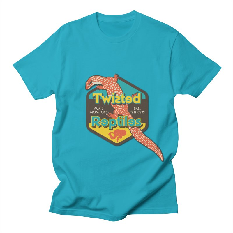 TWISTED REPTILES Men's Regular T-Shirt by Drawn to Scales