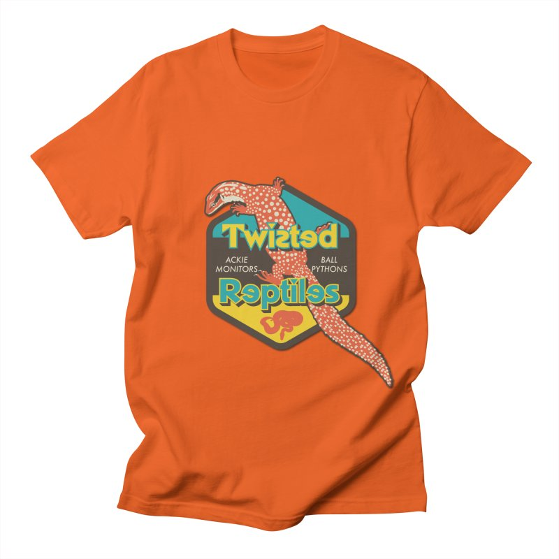 TWISTED REPTILES Women's Regular Unisex T-Shirt by Drawn to Scales