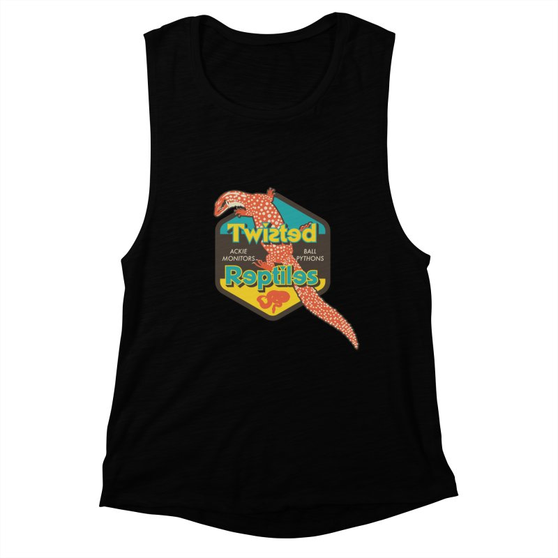 TWISTED REPTILES Women's Muscle Tank by Drawn to Scales