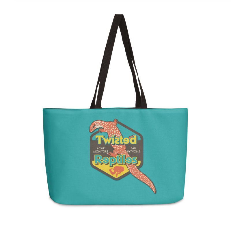 TWISTED REPTILES Accessories Weekender Bag Bag by Drawn to Scales