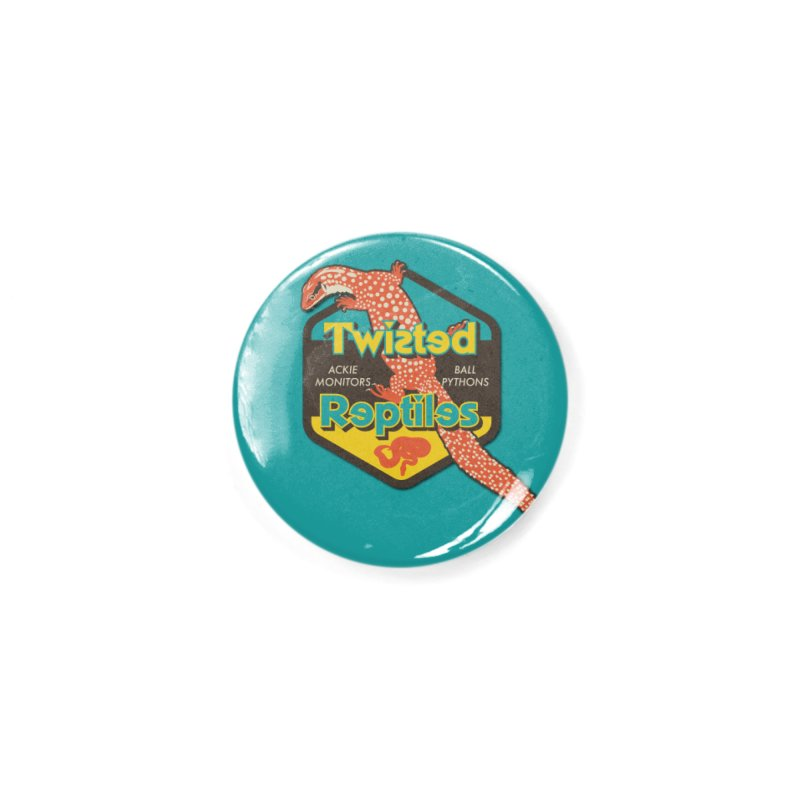 TWISTED REPTILES Accessories Button by Drawn to Scales