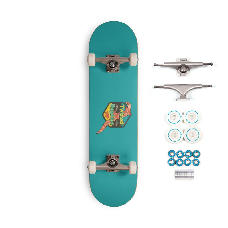 TWISTED REPTILES Accessories Complete - Basic Skateboard by Drawn to Scales